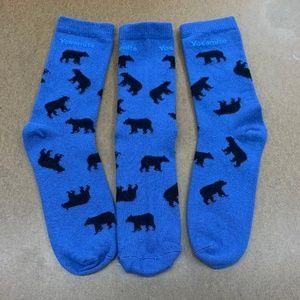 Yosemite Bear Socks